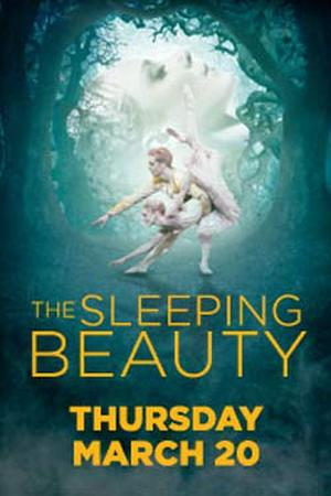 "Poster art for ""ROYAL BALLET: The Sleeping Beauty."""