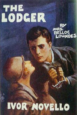 "Poster art for ""The Lodger."""
