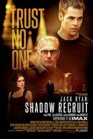 """Poster art for """"Jack Ryan: Shadow Recruit - The IMAX Experience."""""""