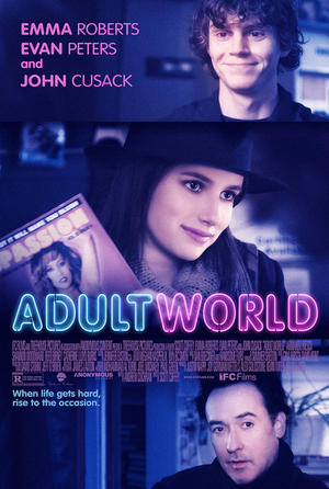 "Poster art for ""Adult World."""