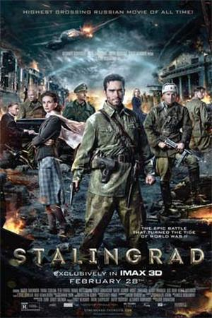 "Poster art for ""Stalingrad"""
