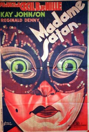 "Poster art for ""Madam Satan."""