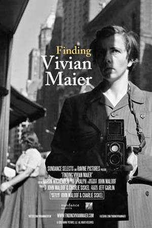"Poster art for ""Finding Vivian Maier."""