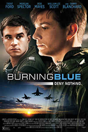 "Poster art for ""Burning Blue"""
