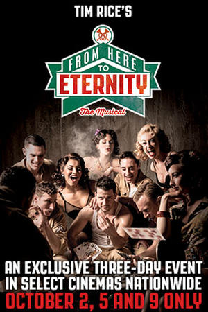 """Poster art for """"Tim Rice's From Here To Eternity."""""""