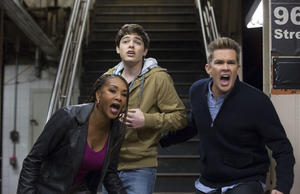 """A scene from """"Sharknado 2: The Second One."""""""