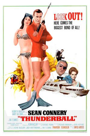 "Poster art for ""Thunderball."""