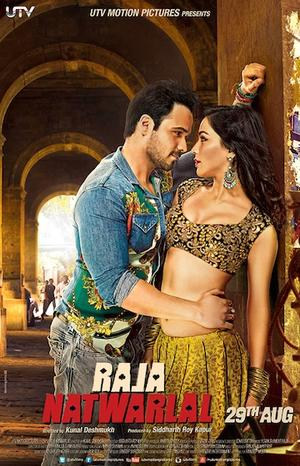 "Poster art for ""Raja Natwarlal."""