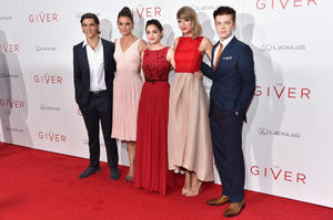 Check out the cast of 'The Giver' at the New York premiere.