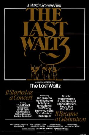 "Poster art for ""The Last Waltz."""