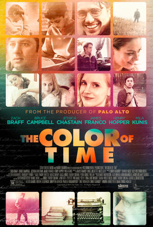 "Poster art for ""The Color of Time."""