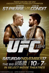 UFC 154: St-Pierre vs. Condit showtimes and tickets