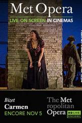 The Metropolitan Opera: Carmen Encore showtimes and tickets