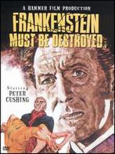 Frankenstein Must Be Destroyed showtimes and tickets