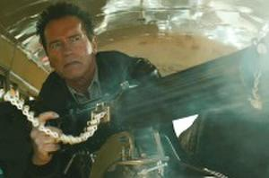 One Big Scene: Arnold Schwarzenegger Rips Cars Through Cornfields in 'The Last Stand'