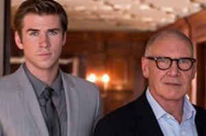 Harrison Ford Schools Liam Hemsworth in 'Paranoia' Trailer