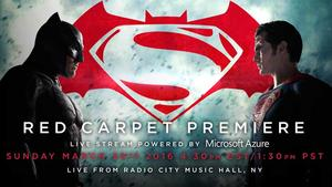 LIVE STREAM: 'Batman v Superman: Dawn of Justice' New York City Premiere