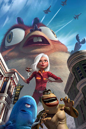 Monsters vs. Aliens Battle Royal Smackdowns