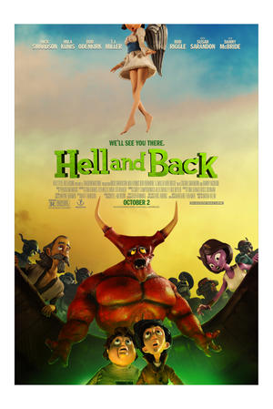 "Poster art for ""Hell & Back."""