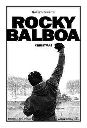 """Poster art for """"Rocky Balboa."""""""