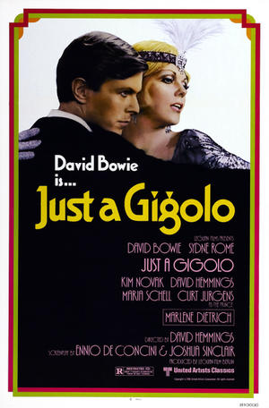 """Poster art for """"Just a Gigolo."""""""