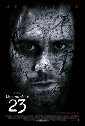 """Poster art for """"The Number 23."""""""