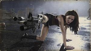 "Rose McGowan in ""Grindhouse."""