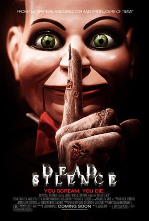 """Poster art for """"Dead Silence."""""""