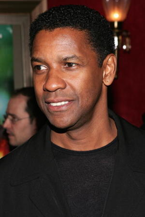 "Denzel Washington at the New York City premiere of ""Deja Vu"""