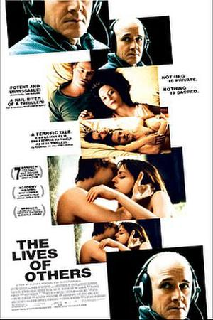 """Poster art for """"The Lives of Others."""""""