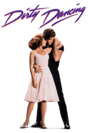 "Poster art for ""Dirty Dancing."""