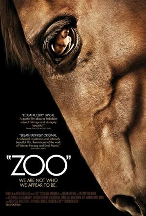 """Poster art for """"Zoo."""""""