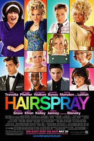 "Poster art for ""Hairspray."""