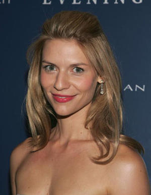 """""""Evening"""" star Claire Danes at the N.Y. premiere."""