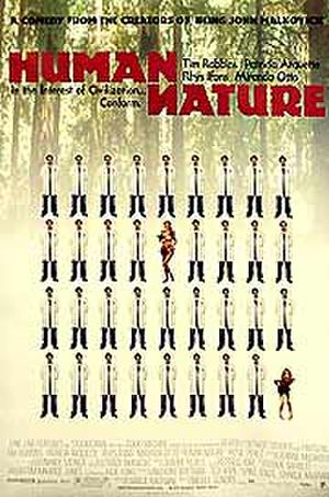 """Poster art for """"Human Nature."""""""
