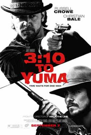 """3:10 to Yuma"" poster art."