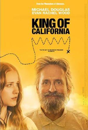 """Poster art for """"King of California."""""""