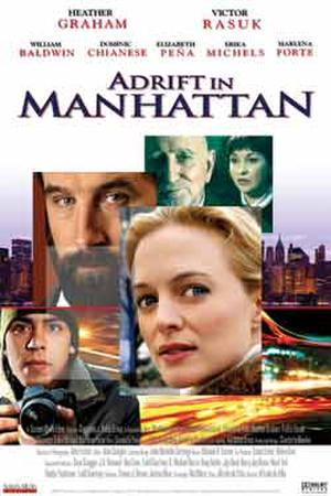 """Adrift in Manhattan"" poster art."