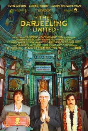 "Poster art for ""The Darjeeling Limited."""