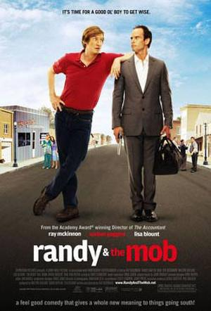 "Poster art for ""Randy and the Mob."""