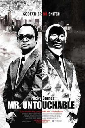 "Poster art for ""Mr. Untouchable."""