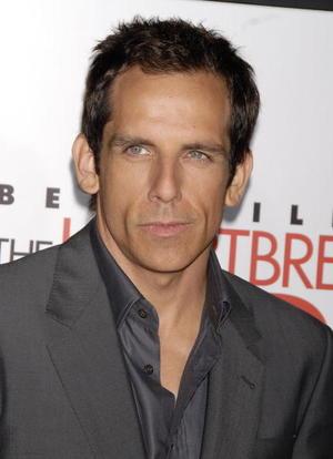"""The Heartbreak Kid"" star Ben Stiller at the L.A. premiere."