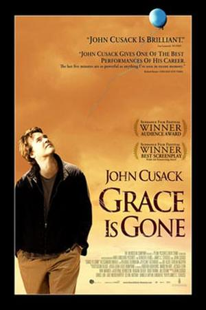 "Poster art for ""Grace Is Gone."""
