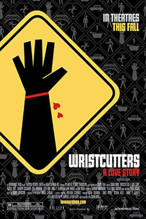 """Poster art for """"Wristcutters: A Love Story."""""""