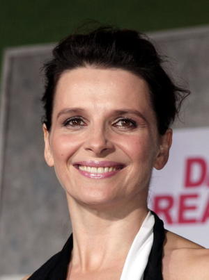 """Dan in Real Life"" star Juliette Binoche at the Hollywood premiere."