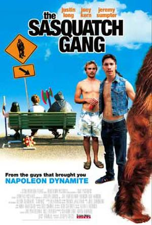 """Poster art for """"The Sasquatch Gang."""""""