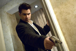"""Colin Farrell in """"In Bruges."""""""