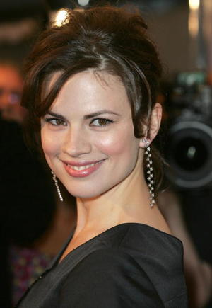 "Actress Hayley Atwell at the ""Cassandra's Dream"" North American Premiere screening during the Toronto International Film Festival 2007."