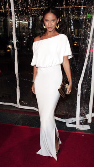 """Actress Joy Bryant at the Hollywood premiere of """"Welcome Home Roscoe Jenkins."""""""