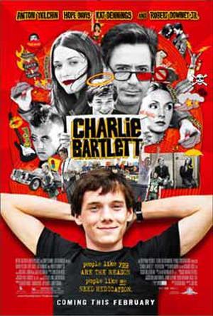 """Poster art for """"Charlie Bartlett."""""""